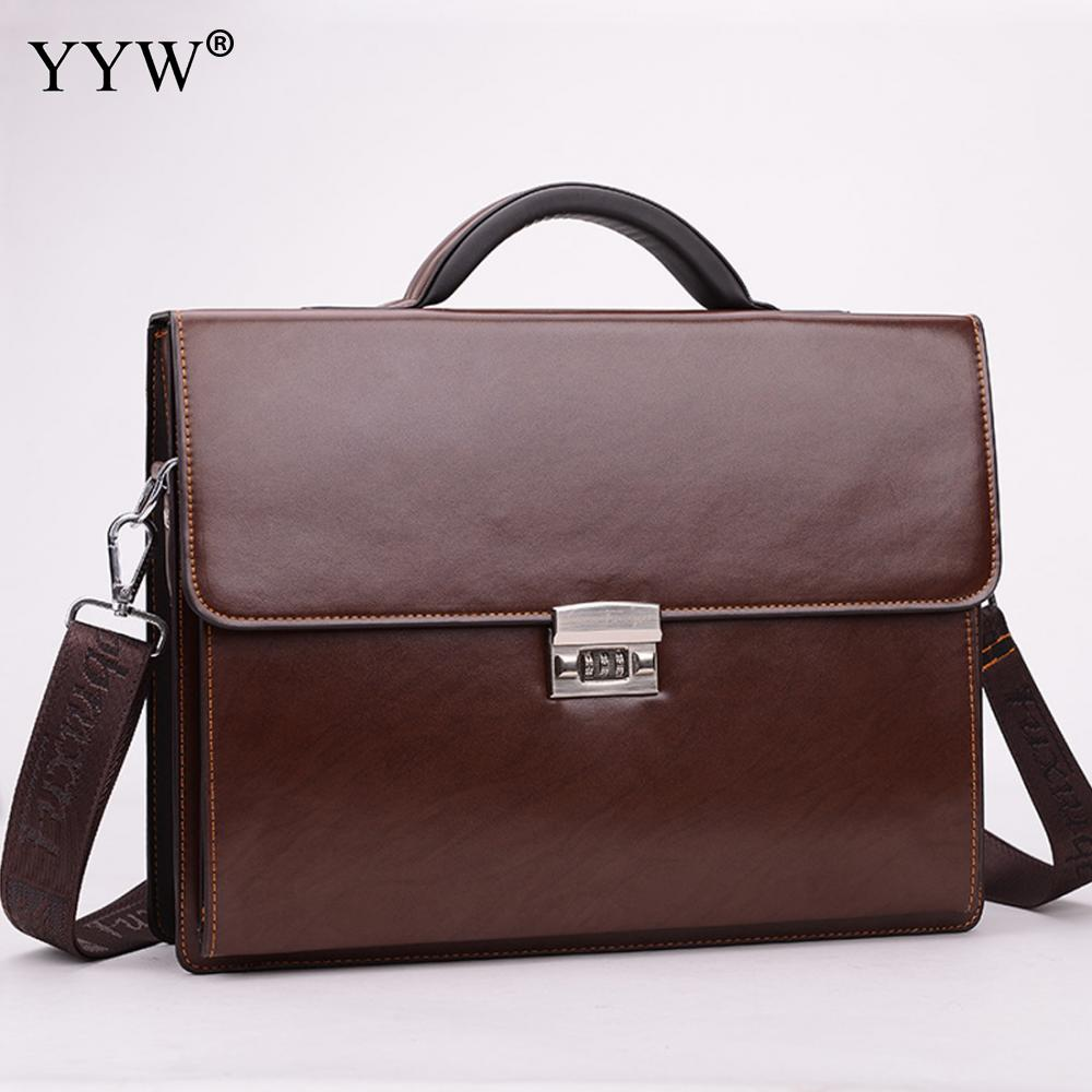 Business Male Bag MenS Executive Briefcase Black Portfolio Tote Bags For Men Synthetic Pu Leather Handbag A Case For DocumentsBusiness Male Bag MenS Executive Briefcase Black Portfolio Tote Bags For Men Synthetic Pu Leather Handbag A Case For Documents