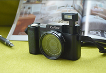 KaRue CDR2 Max 24MP 8MP CMOS 1080P 4X Digital Zoom Camera Video Camcorder with 3 Inch Rotatable TFT Screen 52mm Lens