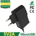 5V 2A EU Plug Wall USB Charger Travel Adapter For Samsung Galaxy S5 S4 S3 Note 3 Cell Phones
