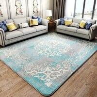 Amerikaanse retro stijl nachtkastje tapijt 200*240 cm woonkamer, rechthoek grond mat, decoratie vloermat