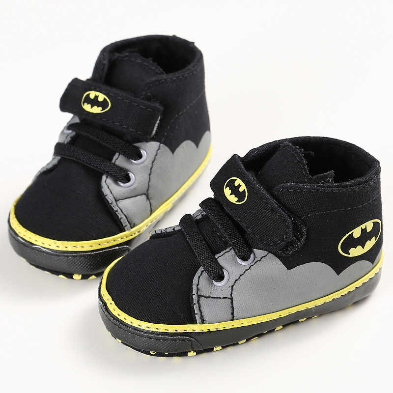 2019 New Spring Autumn Batman Hero Baby Boys Fashion Sneakers Soft Infant bebe Toddler Shoes First Walkers Indoor Slippers