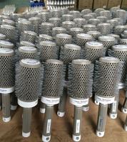 6 Sizes (19 MM 25 MM 32 MM 45MM 53 MM 65 MM )Durable Ceramic Iron Round Comb Hair Dressing Brush Salon Styling Barrel 5