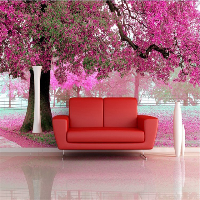 beibehang photo wall paper for living room TV setting room sofa warm ...