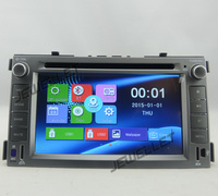 Car DVD GPS radio Navigation for Kia Soul 2009 2011 with Bluetooth Ipod mirror link