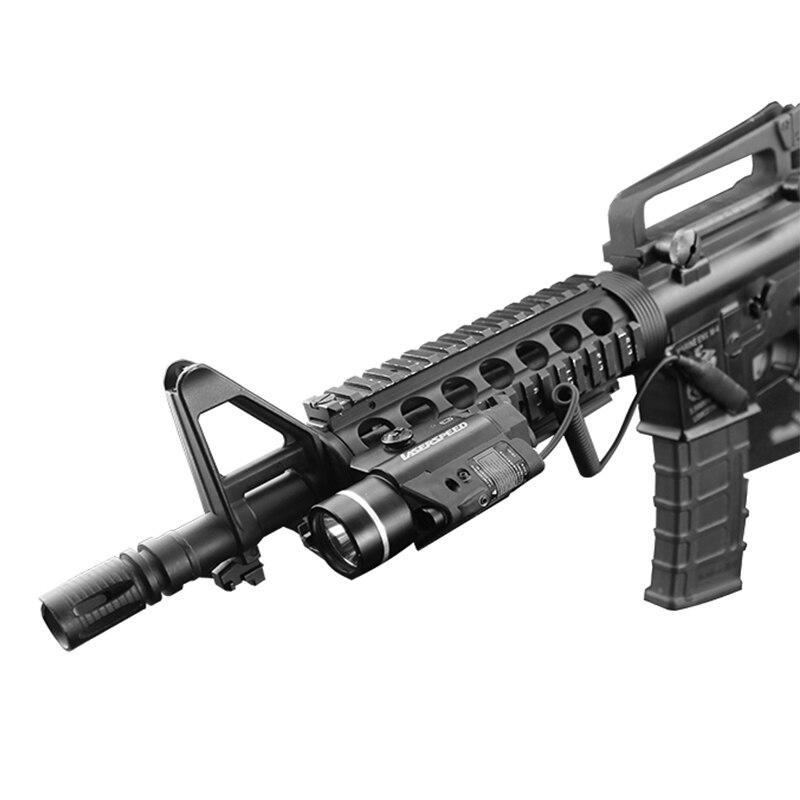 Visée laser anti-recul montée sur rail tactique de livraison directe pour pistolet ar15 de ak-47