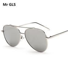 Classical Brand Designer Oversize Men Women Polarized Sunglasses Metal Alloy Frame Sun Glasses With Free Case Oculos UV400 X79