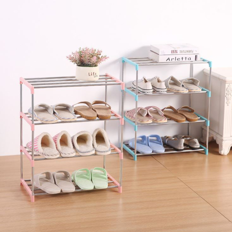 Furniture:  Multi Layer Shoe Pipe Easy to install home Shoe Storage Organizer Space Saving door shoe storage DIY Home Furniture - Martin's & Co