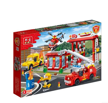 BB Model Speelgoed Compatibel met BB7115 728Pcs Model Building Kits Speelgoed Hobby Building Model Blokken - 5