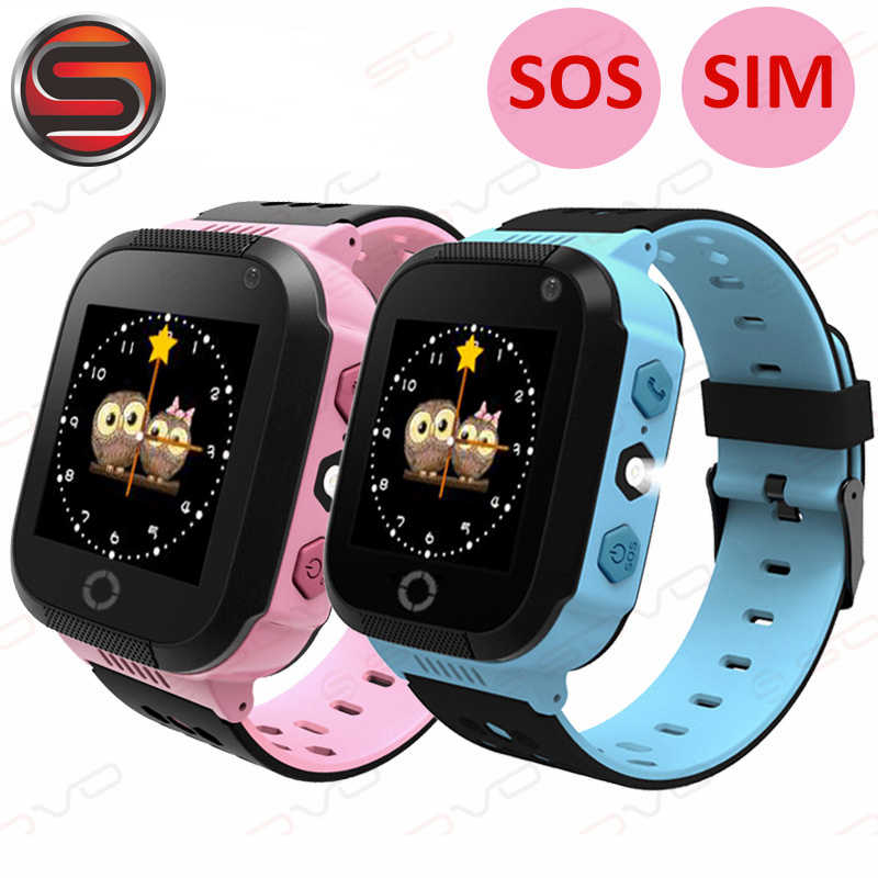 Q528 GPS Child Touch Screen Smart Watch With Camera Lighting Phone Location SOS Call Remote Monitor G29 Pk Q90 Q100