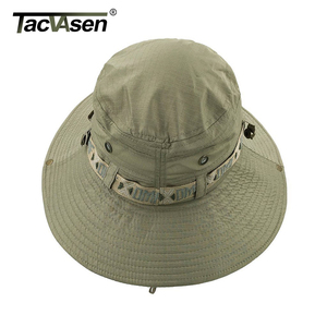 Image 4 - TACVASEN Army Men Tactical Sniper Hats Fish Bucket Hats Boonie Hat Summer Sun Protection Safari Cap Military Hike Hunt Hats Caps