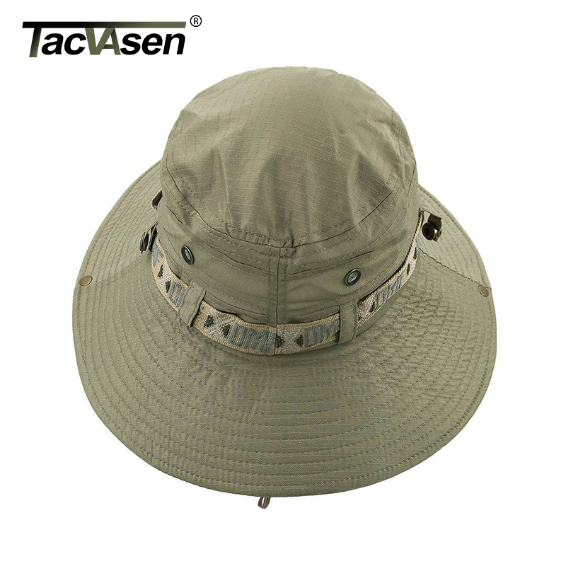 Image 4 - TACVASEN Army Men Tactical Sniper Hats Sun Boonie Hat Summer Sun Protection Cap Men's Military Fish Hunt Hats Caps TD YWYG 001-in Men's Sun Hats from Apparel Accessories
