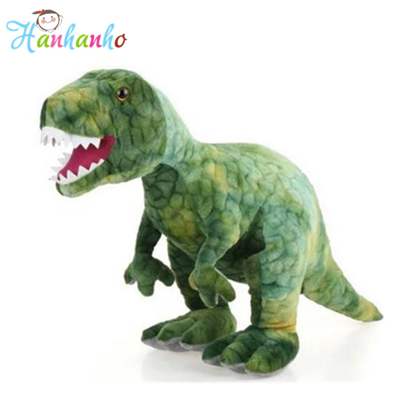 Simulation Large Dinosaur Trex  Plush Toy Big Animal Stuffed Toy Children's Toys Doll Birthday Gift stuffed animal 145cm plush tiger toy about 57 inch simulation tiger doll great gift w014