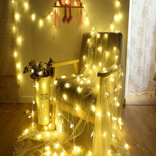 3M 5M 10M Outdoor Star LED Garland Xmas  String Light 5V 20 50 80 Fairy Lights for Christmas Tree Wedding Party Decor