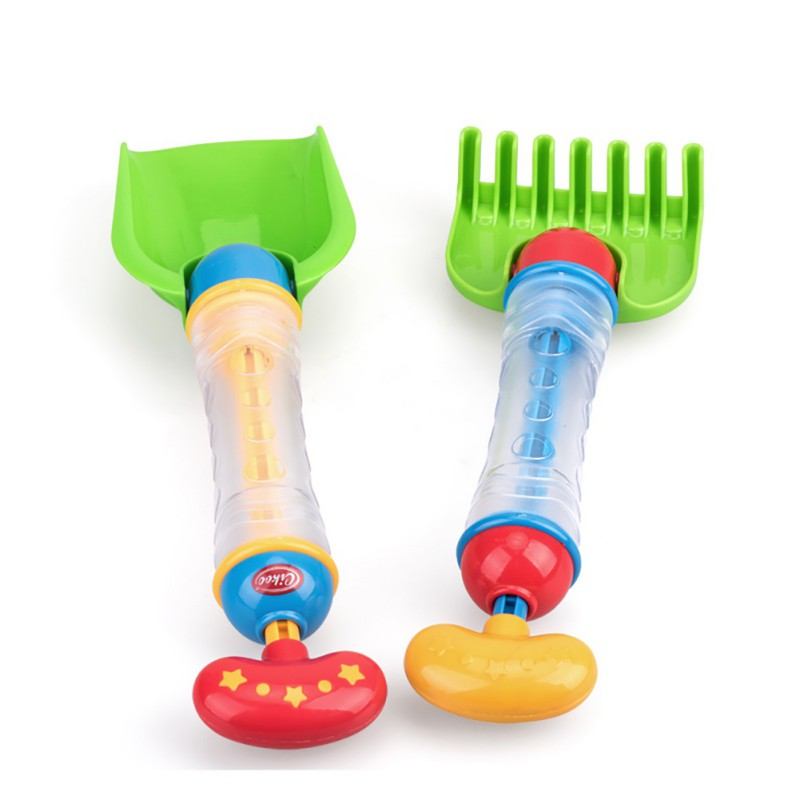 1PCS Funny Baby Kids Swimming Pool Sand Set Water Beach Spraying Cannon Gun Water Fight Blaster Rake Shovel Bath Toys