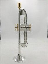 BULUKE חדש חצוצרה 190S 77 מוסיקה מכשיר Bb חצוצרה שטוחה לדירוג העדיף Slivered מצופה חצוצרה מקצועי ביצועים