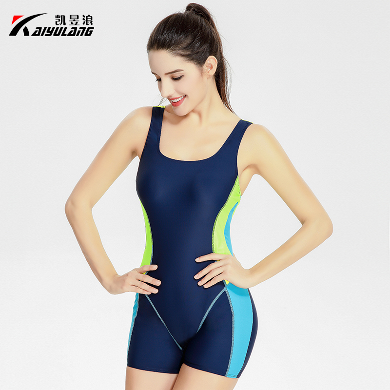 2017 women sexy halter one piece swimsuit sports large