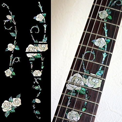 Fretboard Markers Inlay Sticker Decals for Guitar - Gypsy Rose fretboard markers inlay sticker decals for guitar twisted snake