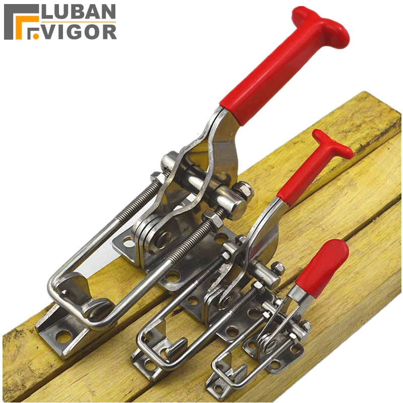 304 stainless steel fixture Clamping tool,big Clamping force,box buckle,No rust,horizontal direction Fast tighten304 stainless steel fixture Clamping tool,big Clamping force,box buckle,No rust,horizontal direction Fast tighten