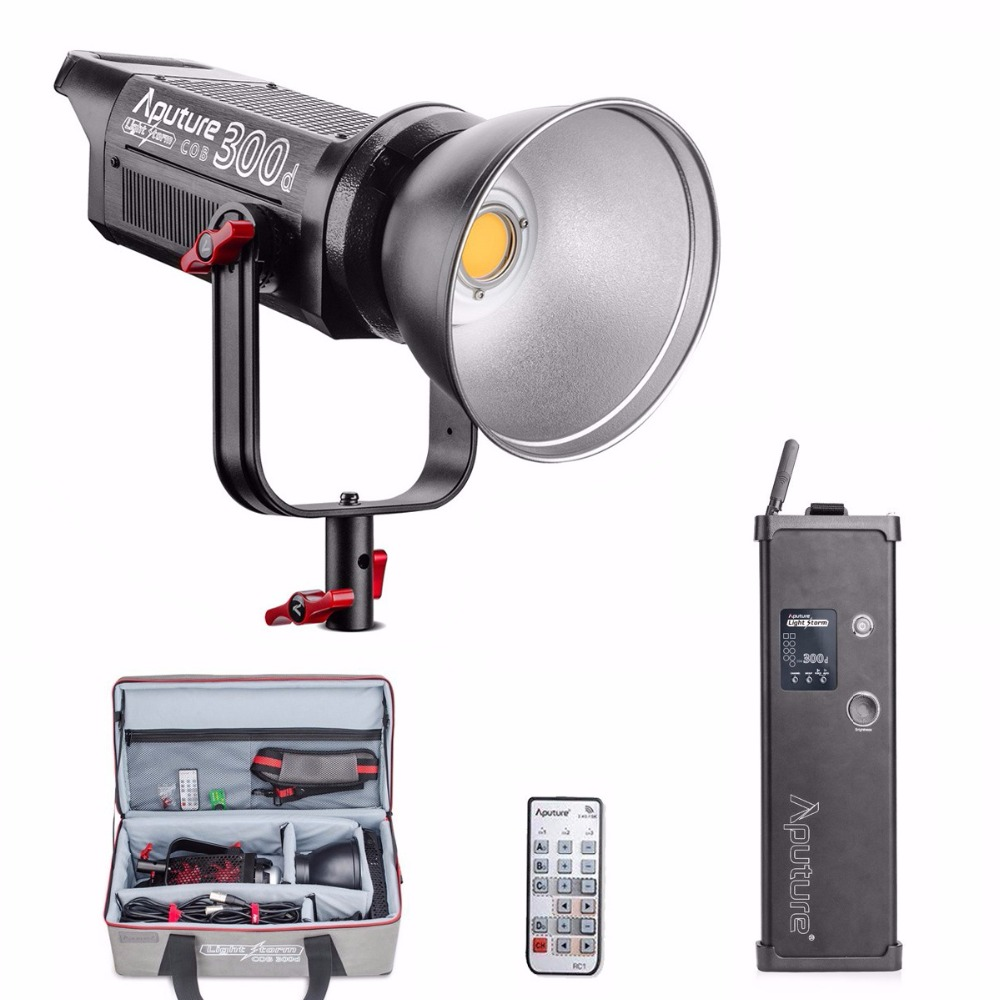 Aputure LS C120d 120D II 180W LED Continuous V-Mount Video Light CRI96+ TLCI97+ 2.4G 5500K Bowens Mount Daylight Studio Light aputure ls c300d ls c120d cob chip light tlci cri 96 professional shooting filming light outdoor led studio light v mount