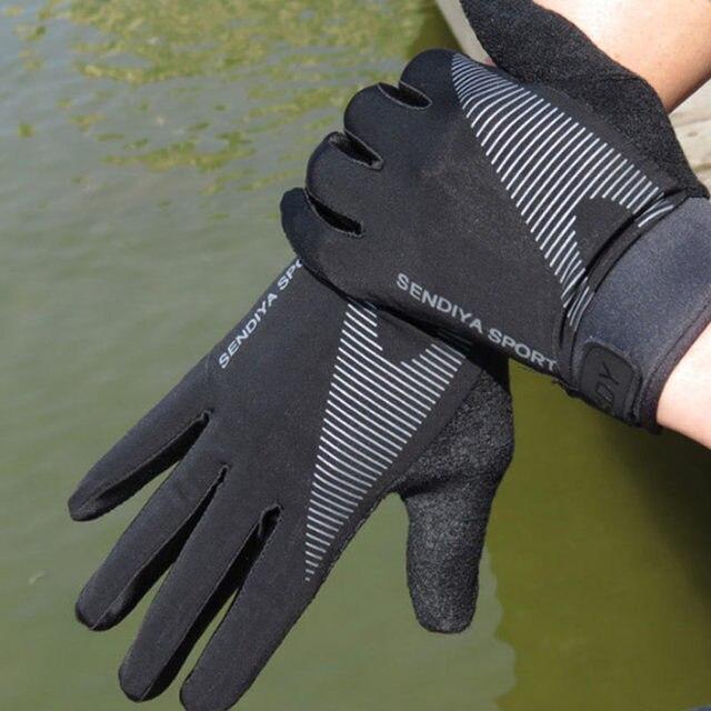 Recente 1 par de bicicleta luvas de dedo cheio touchscreen luvas mtb respirável verão luvas leve equitação glov 5