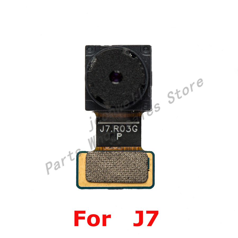For Sam Galaxy J7 J700F J7008 Front Camera Small Camera Flex Cable Replacement Part ...