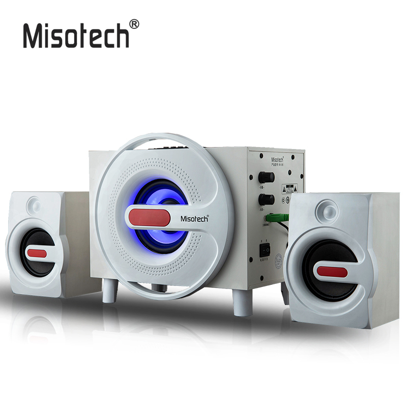 US $135 99 |High Quality 3 5mm Subwoofer Wooden Speakers With Bluetooth SD  Card U Disk to Play Music For Home Office PC Computer Smartphones-in