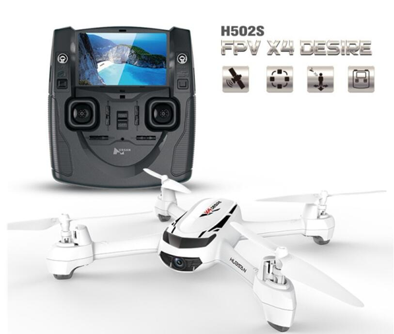 Hubsan X4 H502S 5.8G FPV with 720P HD Camera GPS Altitude Mode RCDrone - White gps навигатор lexand sa5 hd