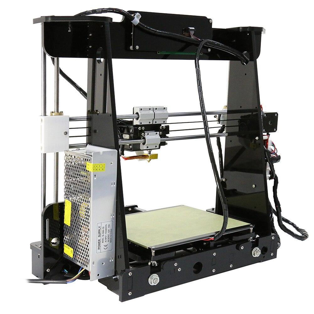Anet A8 Auto niveau A8 3d imprimante Prusa i3 3d imprimante Kit diy 0.5 kg PLA filament comme cadeaux gratuite de Moscou Russe Entrepôt - 4