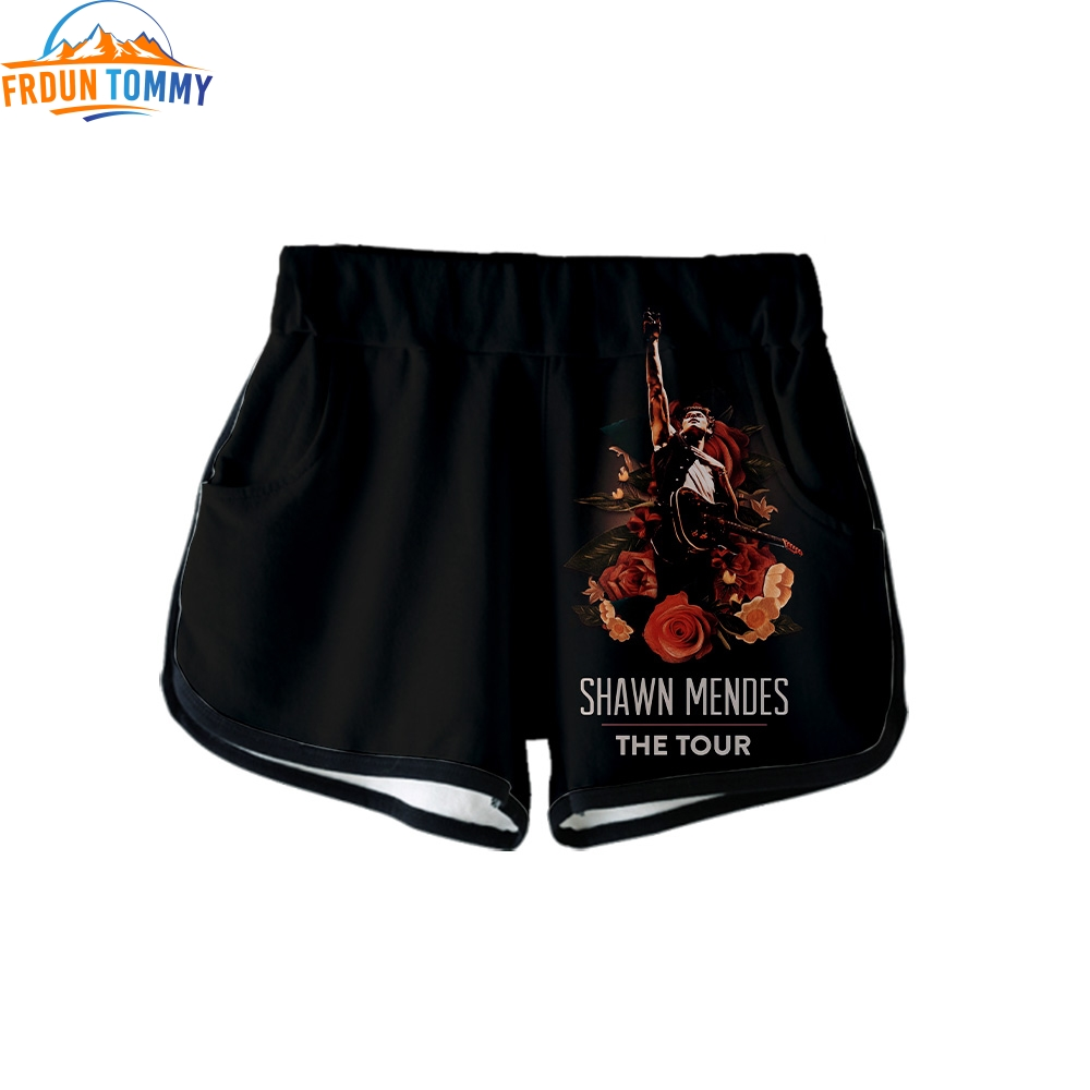 New Fashion Print Singer Shawn Mendes Summer Women Casual Shawn Mendes Harajuku Girl High Quality Hot Sale Sexy Short Clothes