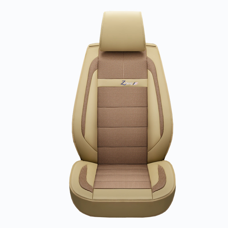 New Leather Flax universal auto seat covers for chevrolet impala lacetti lanos malibu xl optra orlando