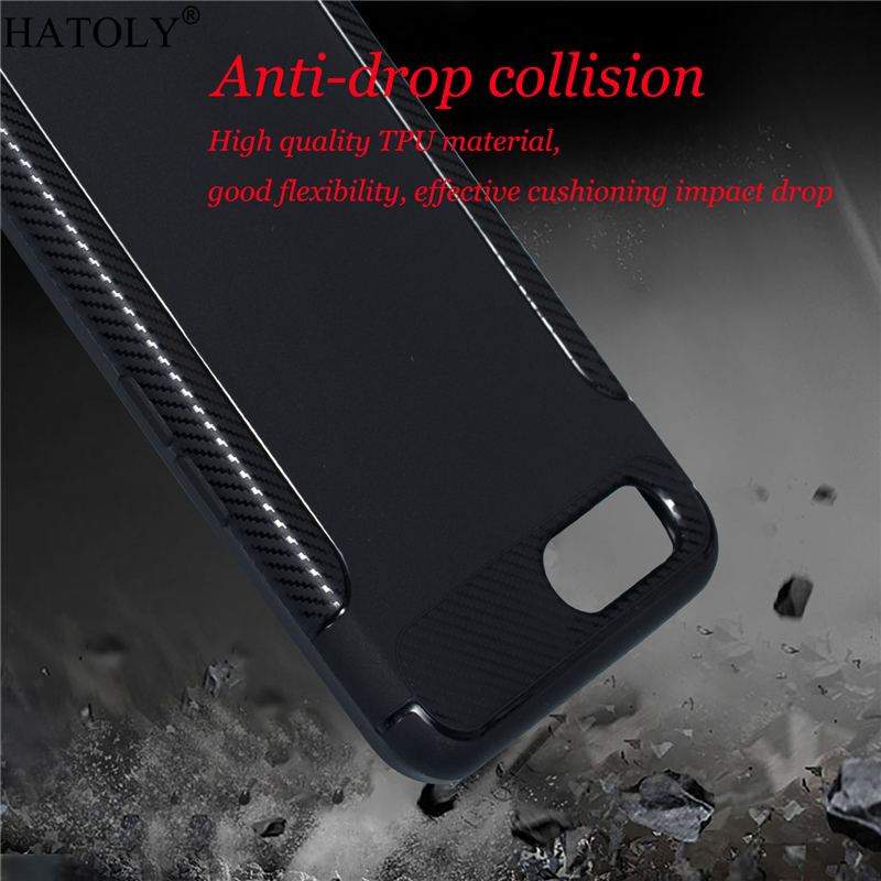 OPPO A5 Case Cover For OPPO A5 Rubber Silicone Armor Phone Shell Protector Funda Shockproof Soft Back Case For OPPO A5 A3S
