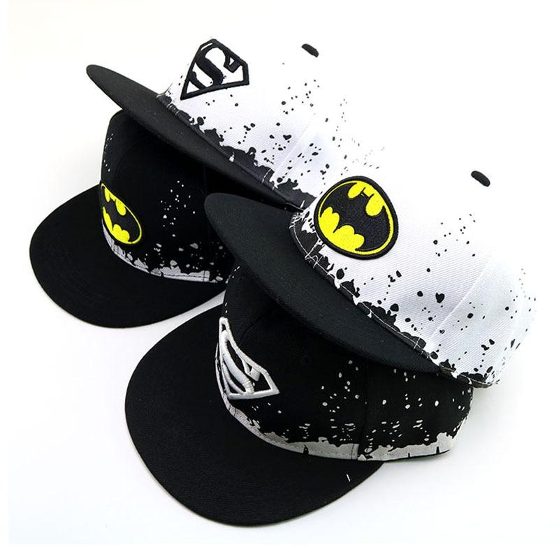 2019 Fashion Hat Child Superman Hat For Boy Girl Snapback Caps Baby Hip Hop Hats Baby Baseball Cap Sun Cap Birthday Christmas Бейсболка