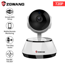 hot deal buy zgwang 720p hd wireless wifi ip camera video security camera surveillance night vision indoor baby monitor camera