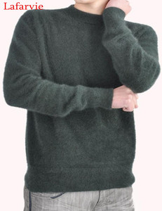 Image 5 - سترة لافارفي عالية الجودة بأكمام طويلة أكمام طويلة كشمير منك 100% أوتور وشتاء سترة رسمية محبوكة للرجال من لافارفي