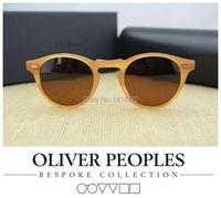 Hot!วินเทจบุรุษและสตรีแว่นตากันแดดไม่มีBurdenOliverประชาชนเกรกอรี่Peck5186แว่นกันแดดแว่นกันแดดp olarized r etroออ...