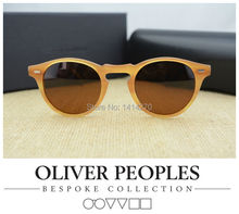 Hot!Vintage mens and womens sunglasses No BurdenOliver Peoples Gregory Peck5186 sunglasses polarized sunglasses retro designer