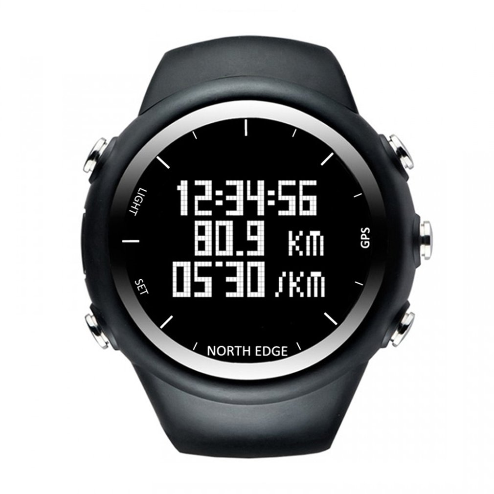 Professional GPS Outdoor Hiking Sports Watch Backlight Waterproof Smart Bracelet Pace Speed Calorie Running Watch 2018 : 91lifestyle