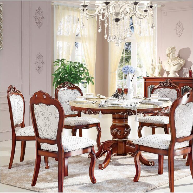 Luxury Dining Room Set: Aliexpress.com : Buy Style Italian Dining Table Round
