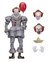 NEW hot NECA Stephen King é Pennywise PVC Action Figure Collectible Modelo Toy(China)