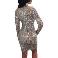 NEW Party Dress Robe Paillette Et Sequins Sexy Robe Sequin Courte Fashion Sequin Mini Dress Long