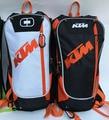 La nueva llegada ktm agua bolsa de hombros mochila bolsa de conducción off-road de carreras de motos motocross racing mochila bolsas