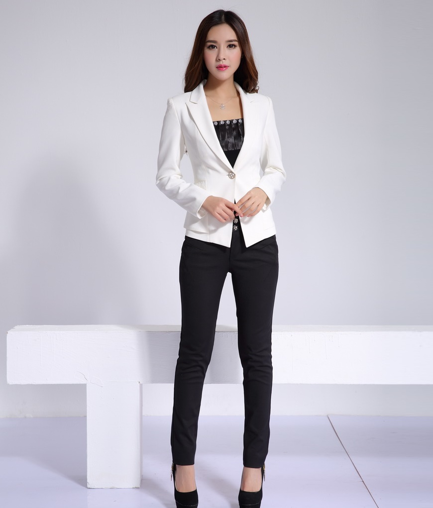 Formal Las Pant Suits For Women Business Office