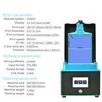 Tronxy LCD 3D Printer Plus Size Drucker Matrix UV Licht Dual Z achse SLA 3d Drucker Photonen Impressora UV Resin