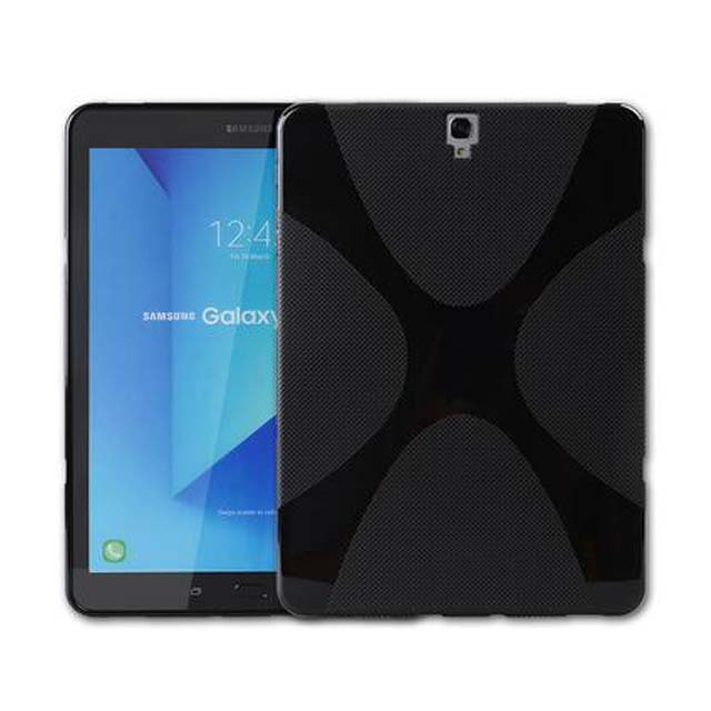 X Line Design Soft Silicon Case TPU Gel Cover Case For Samsung Galaxy Tab S3 9.7 T820 T825 Tablet Protective case new x line soft clear tpu case gel back cover for samsung galaxy tab s2 s 2 ii sii 8 0 tablet case t715 t710 t715c silicon case