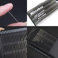 20Pcs Mini Drill Bit Set HSS Micro Twist Drill Bit Set 0.3mm-1.6mm Model Craft With Case Repair Tools Tiny Micro Twist Drill Bit Drill Bits