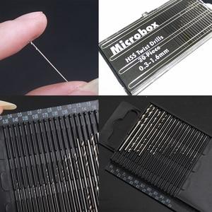 20Pcs Mini Drill Bit Set HSS M