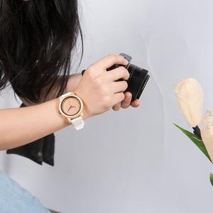 Image 4 - relogio feminino BOBO BIRD Watch Women with Silicone Band Luxury Japan Movement Quartz Watches Girlfriend Students Great Gifts