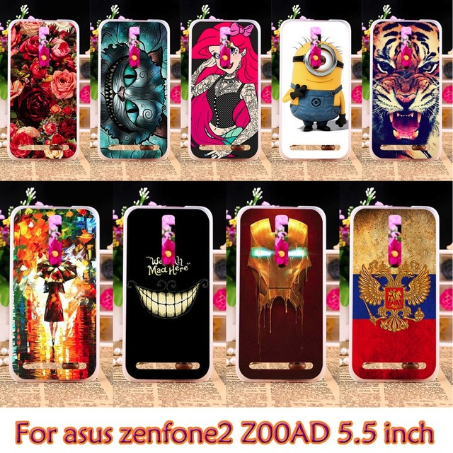 AKABEILA Plastic Case For Asus Z00AD ZE551ML Case For Asus Zenfone2 ZE550ML Z00AD ZE551ML Zenfone 2 5.5 inch Case Cover housing