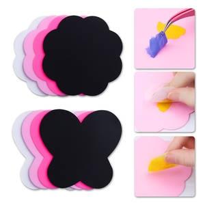 Pad Manicure Tools Nail Art Paint Polish Gel Mixing Transfer Stamp