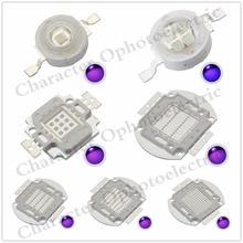 LED 3W/5W/10W/20W/30W/50W/100 Watt UV Purple  integrated chips 365Nm 375Nm 385Nm 395Nm 405Nm High Power COB Ultraviolet Lights